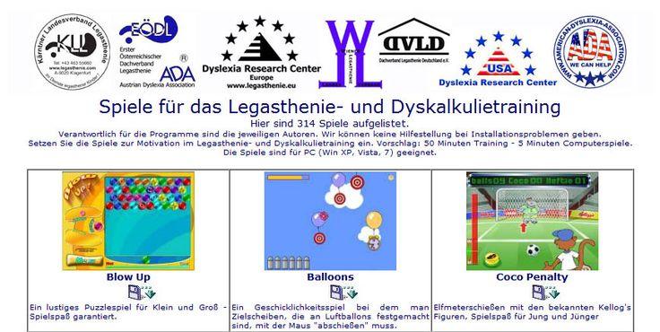 350 Spiele für das Legasthenie- und Dyskalkulietraining