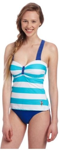 U.S. Polo Assn. Juniors One Piece Striped Suit Price: $31.99 & FREE Shipping