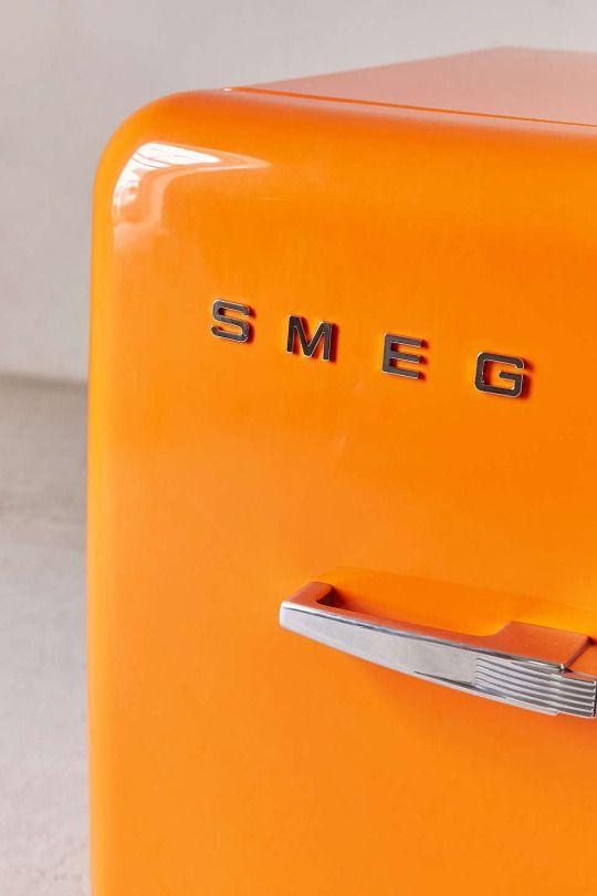 smeg mini fridge