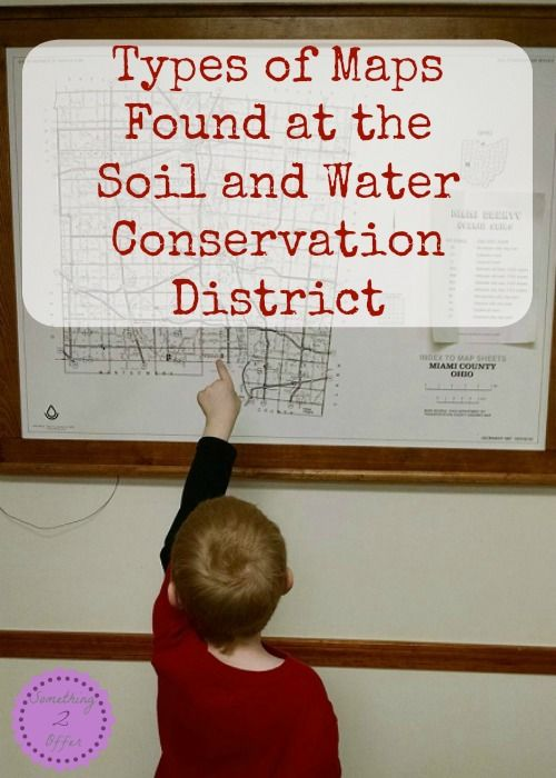 Types of Maps Found at the Soil and Water Conservation District -Something 2 Offer