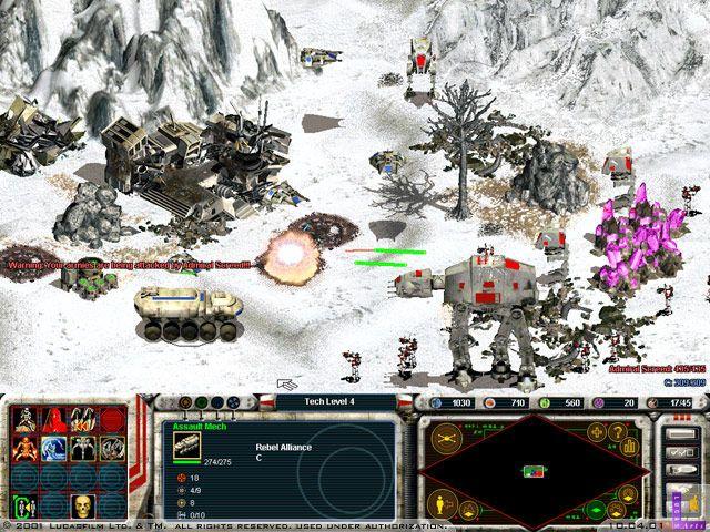 Star Wars: Galactic Battlegrounds Screenshot