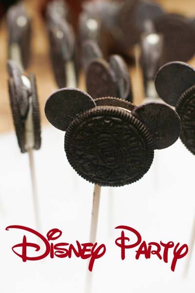 Sugar Bean Bakers: { All About The Mouse Party }                                                                                                                                                                                 More