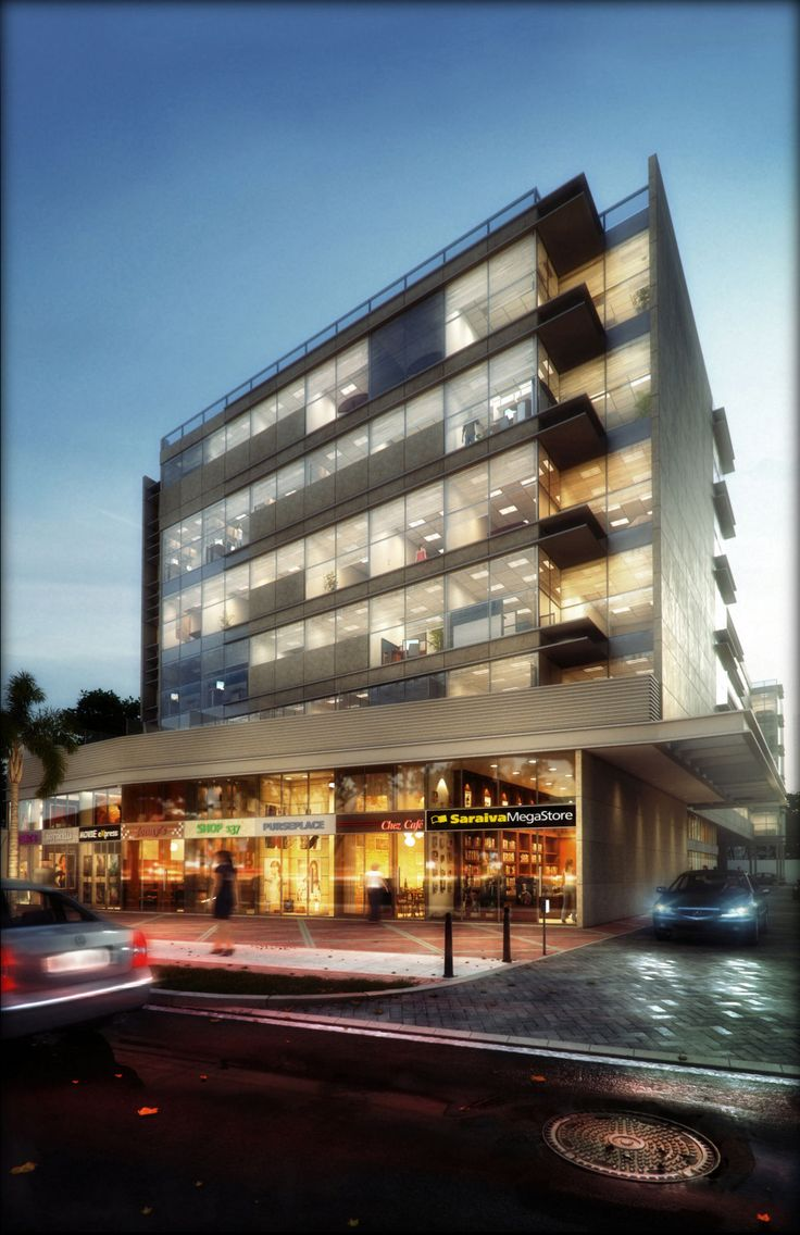 CGarchitect | Commercial Building
