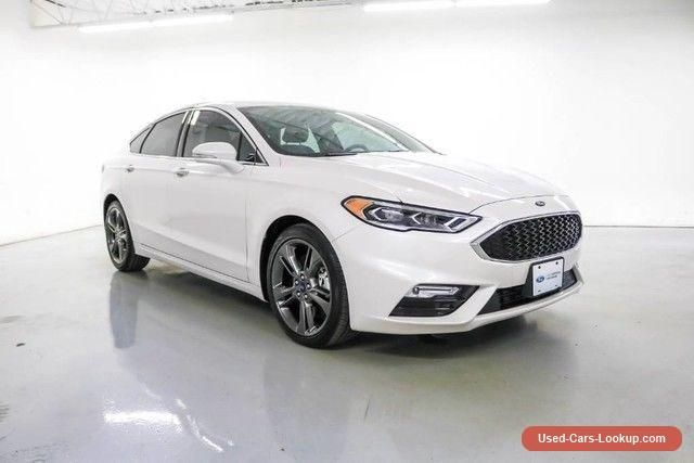2017 Ford Fusion Sport Sedan 4-Door #ford #fusion #forsale #unitedstates