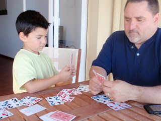 Card Games that Teach Math at Brainstorming the Castle. Take some of the most beloved card games and put an educational spin on them. Kids will LOVE this and parents/teachers/caregivers will breathe a sigh of relief that math practice just got A LOT more fun!