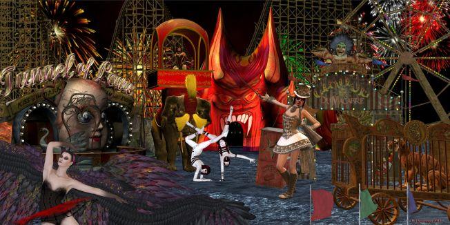 Cirque macabre banner
