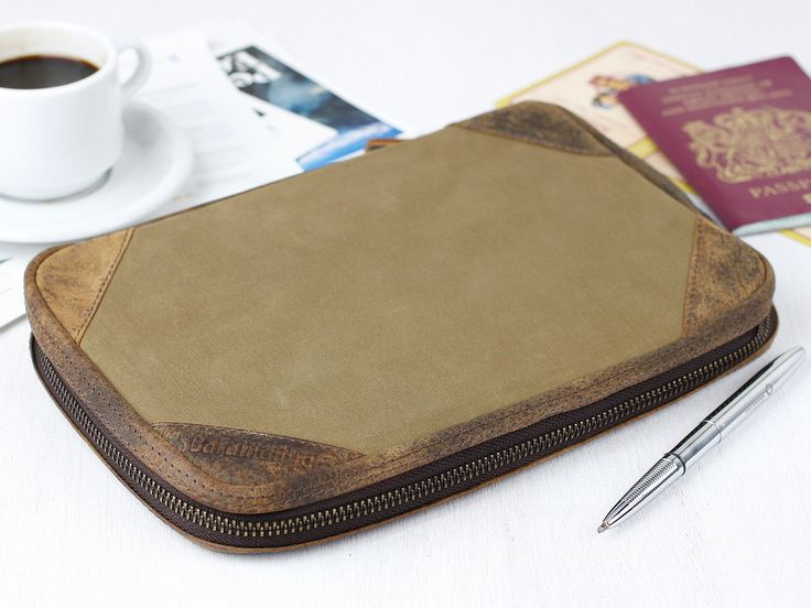 Passport and Documents Travel Wallet  - a father's day gift he'll actually use!
