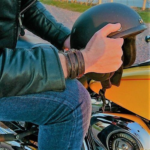 SixC Nomad – Leather Bracelets for Big Boys