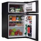 ﹩223.22. Mini Refrigerator Small Compact Ultra Portable Black 3.2 Cu Ft With Freezer   Features - With Ice Box/Freezer Compartment, Type - Compact Fridge, Color - Black, Height - 33in., Width - 20in., What It Is. - Mini Refrigerator, What It Is #2. - Small Refrigerator, What It Is #3. - Compact Refrigerator, What It Is #4. - Ultra Compact Refrigerator, What It Is #5. - Small Compact Refrigerator, What It Is #6. - Portable Compact Refrigerator Black, What It Is #7. - 3.2 Cu Ft Refrig