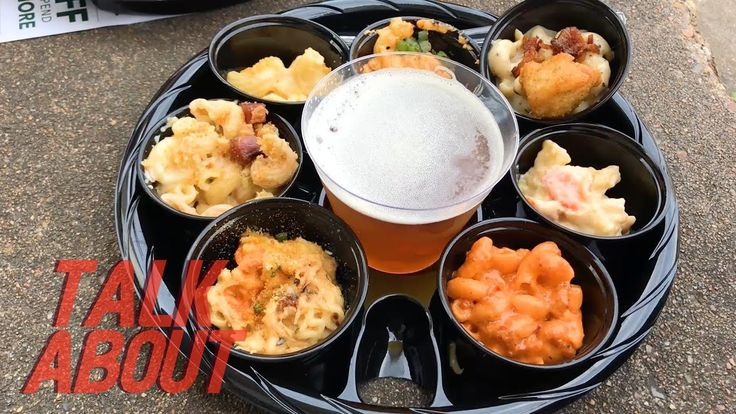Talk About Houston Mac and Cheese Festival - YouTube