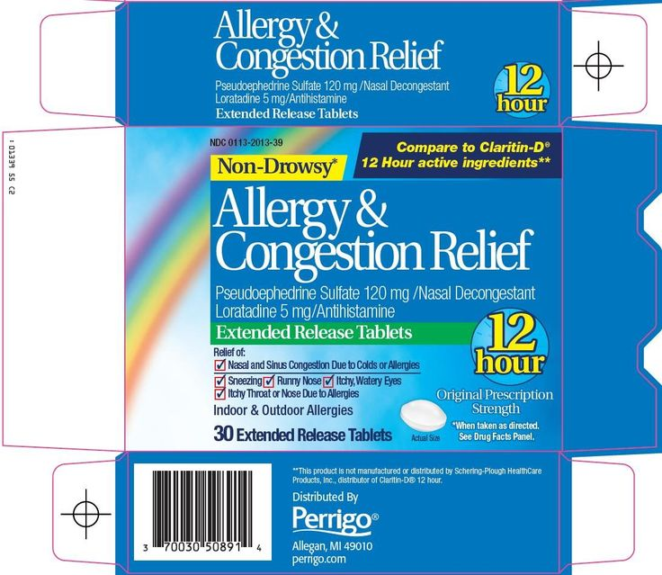Claritin Packaging | Allergy and Congestion Relief
