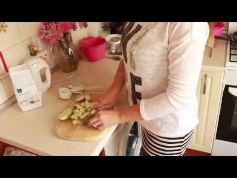 Компоте из груши в карамели для торта - YouTube