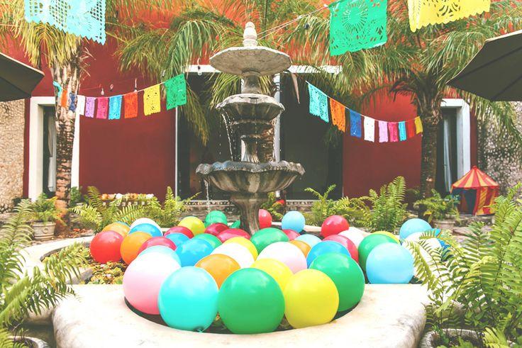 Mexican birthday party #kids #birthday #mexican #mexico #party #circus #shhhmydarling