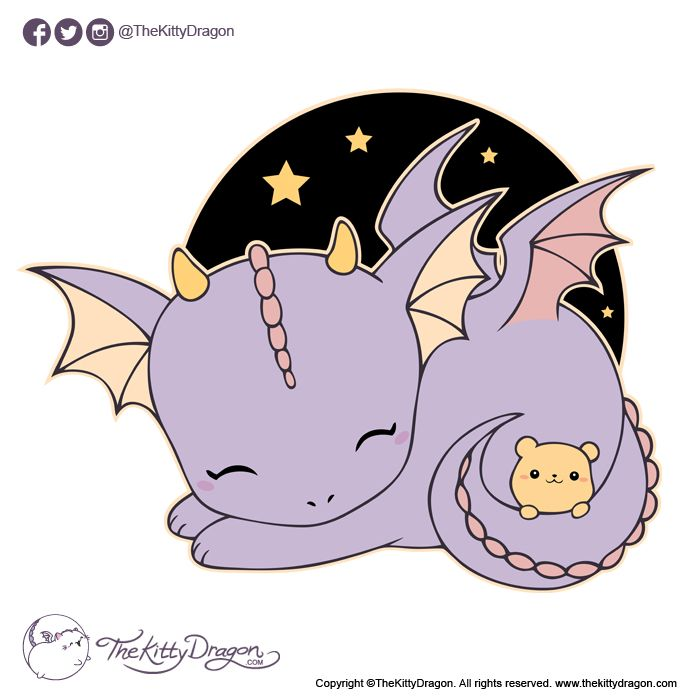 Design By The Kitty Dragon Https Www Thekittydragon Com Dragon Dragonsleeping Teddy Cutedragon Magicalcreatur Baby Dragons Drawing Cute Dragon Drawing