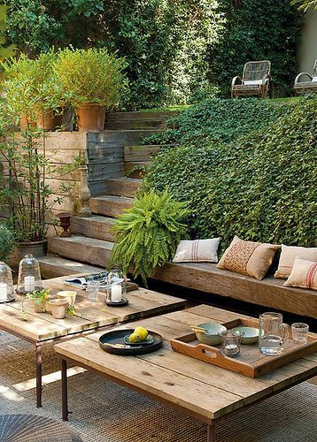 Nice outdoor areas.