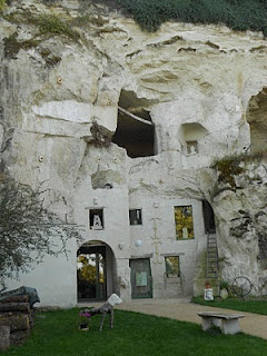Caves troglodytiques, Maine et Loire, Pays de la  Loire, France
