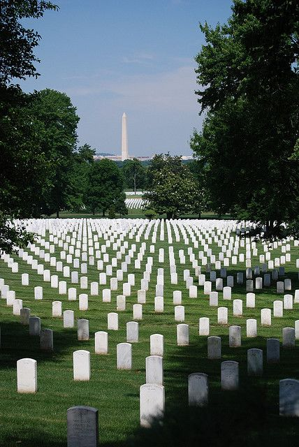 Arlington National Cemetary, Washington DC - this is the most humbling place Ive ever been in my life, sadness hits you as you walk through the gates,, and see the beautiful monuments,, statues,,,, then,,, the graves,,,,,,,,fields and fields of headstones....if you leave with a dry eye , you have no heart!