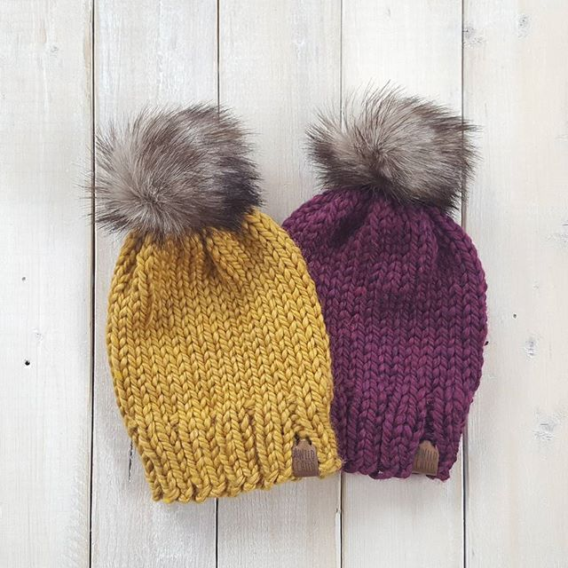 I'm going to have lots of exclusive colours at markets this fall, including this gorgeous mustard and plum. I put so much love into each and every hat, they are kinda like my babies. From every stitch, to the handmade pom poms, I hope you guys are gunna love these as much as I do! Www.wildchilddesigns.ca