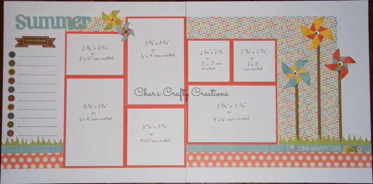 CTMH Zoe layout by Char's Crafty Creations