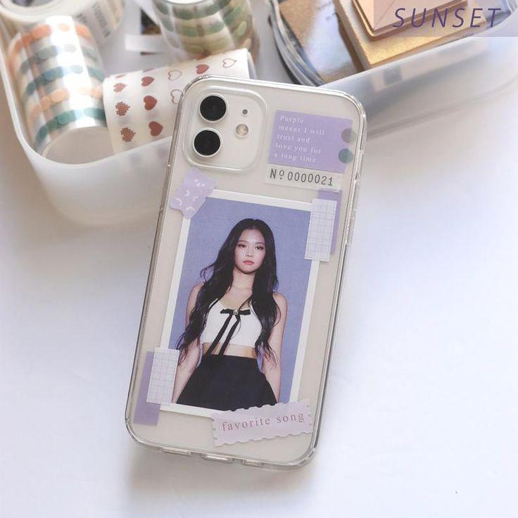 Kpop phone case decor sticker set any kpop member