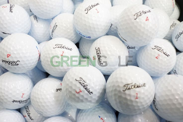 A selection of reclaimed golf balls for sale!!