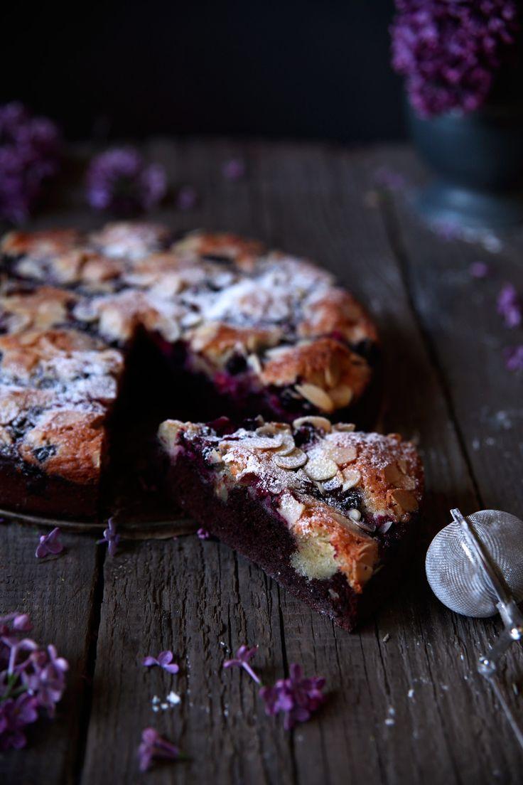St[v]ory z kuchyne   Almond Chocolate Cake with Forrest Fruit (Gluten Free/ Grain Free)