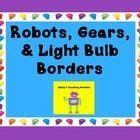 Robot Bulletin Board Borders