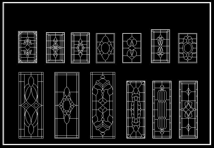 Cad Library Autocad Blocks Drawings European Classical Elements Blocks Ideas For The