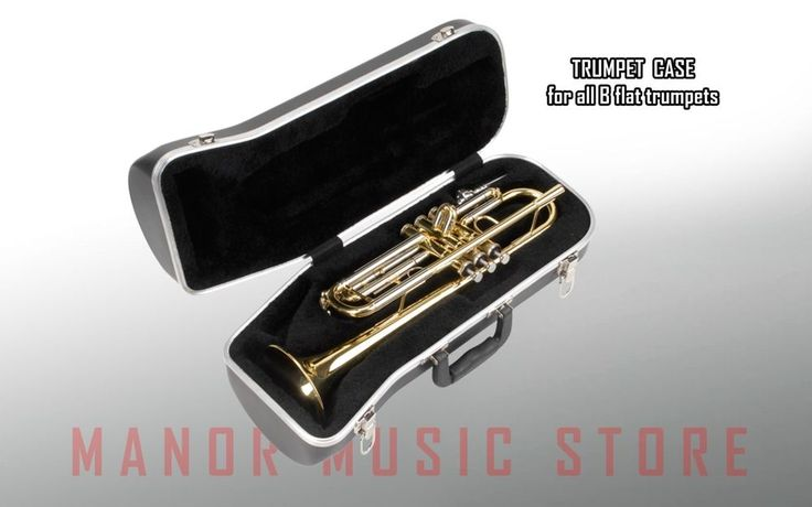 SKB 130 Contoured Trumpet Case 1SKB-130  fits ALL B-FLAT trumpets-FREE DELIVERY #SKB