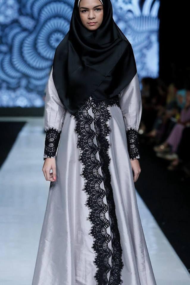 simple syar'i #hijab #dress #indonesia #muslimahfashion