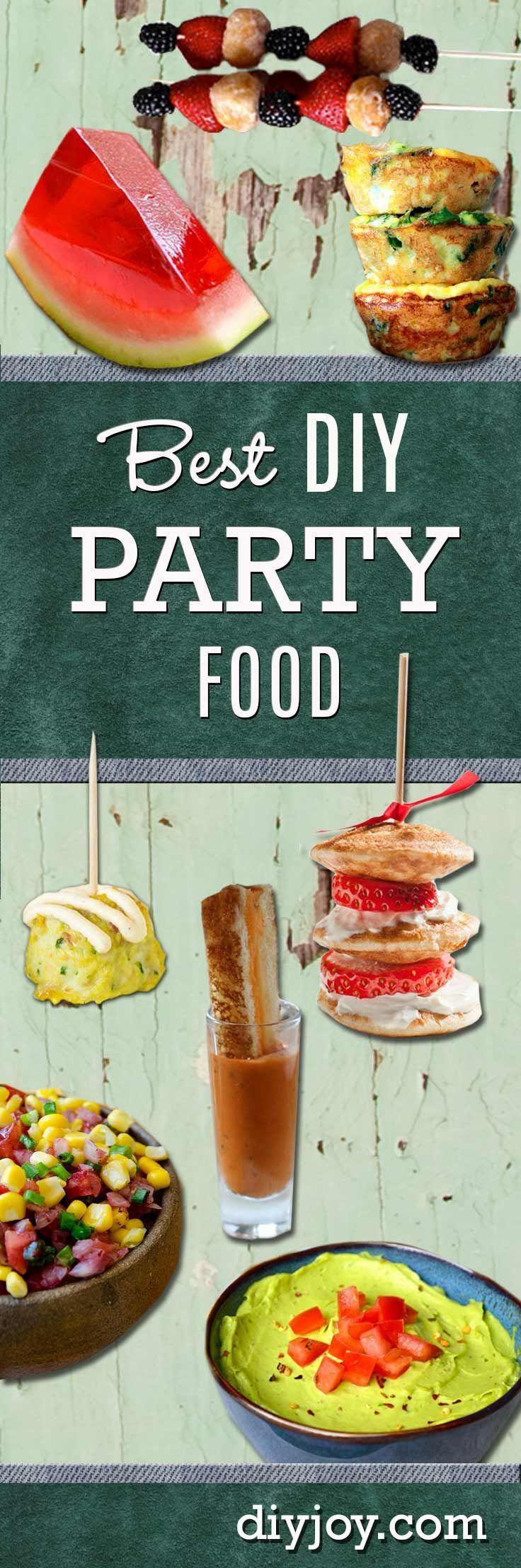 Best DIY Party Food Ideas