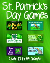 St. Patrick's Day Games - PrimaryGames - Play Free Kids Games Online
