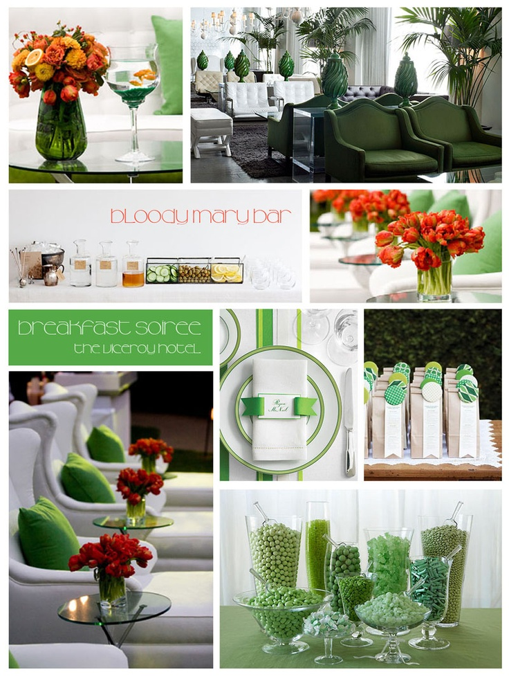 Green accent party
