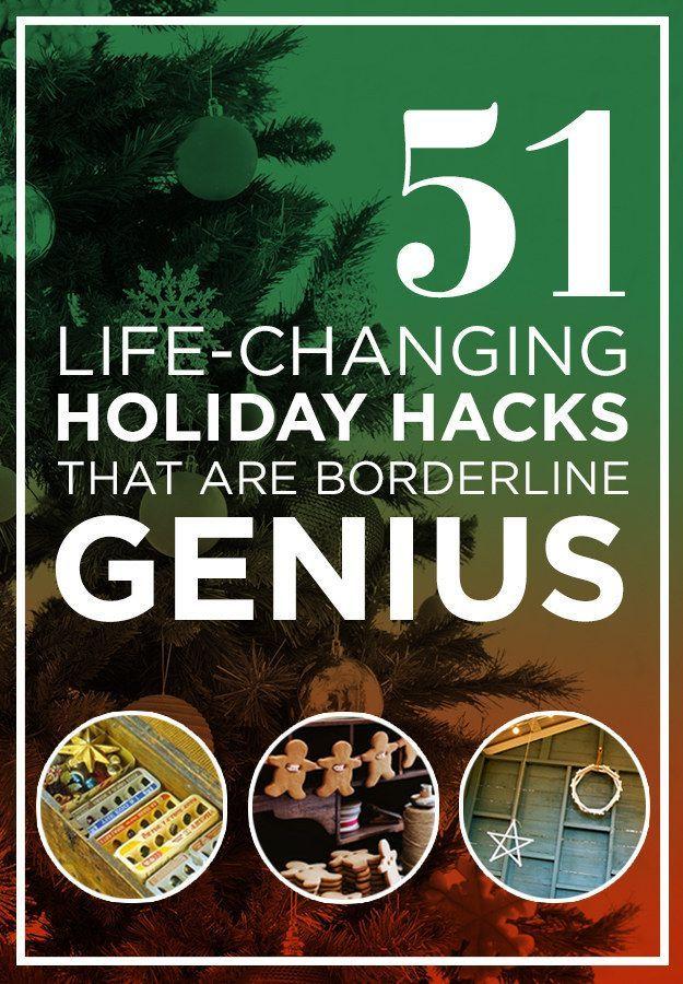 51 Life-Saving Holiday Hacks That Are Borderline Genius holiday hacks, holiday ideas #lifehack