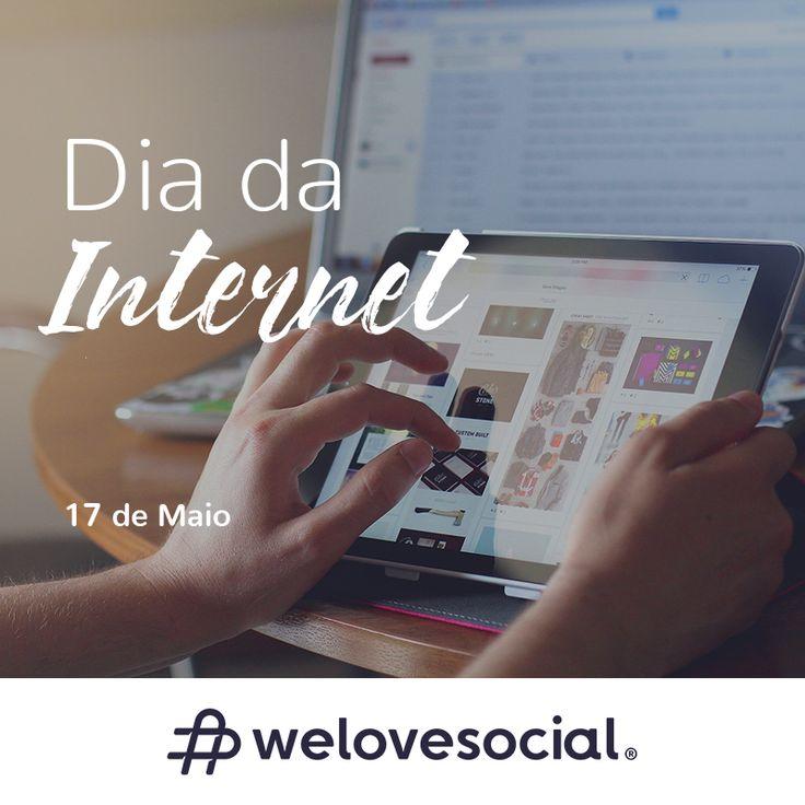 A cada novo clique, um mundo de possibilidades! 🖱️ #WeLoveSocial - http://www.welovesocial.pt  🖱️ #DiaMundialdaInternet #DiadaInternet #Internet