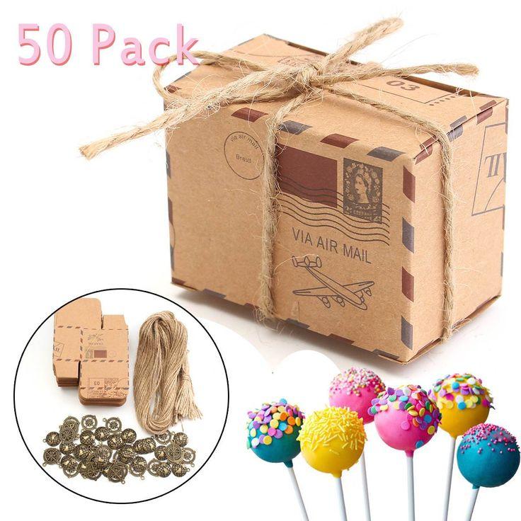 50 шт. Свадебные важны сладкий торт подарочные коробки конфет сумки с бронзовыми украшениями поделки из бумаги годовщины домашнего декора ремеслакупить в магазине Shop2953213 StoreнаAliExpress