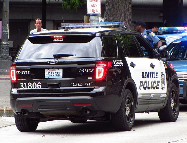 Police Suv Seattle 31806 Ford Interceptor Flickr Photo Vehicles I Like Pinterest Cars And