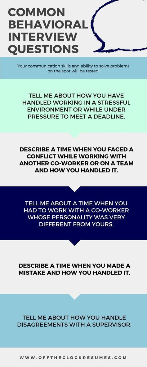 Best Answers To Common Behavioral Interview Questions Job