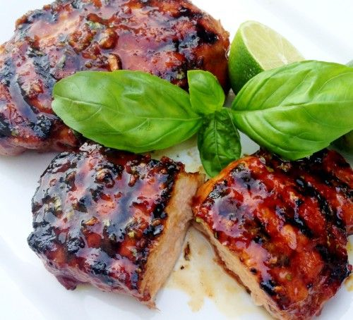 Grilled Pork Chops with Thai Honey Lime Marinade [from www.imbored ...