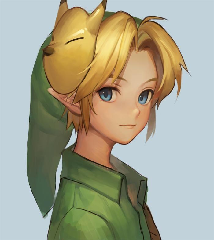 Link legend of zelda anime