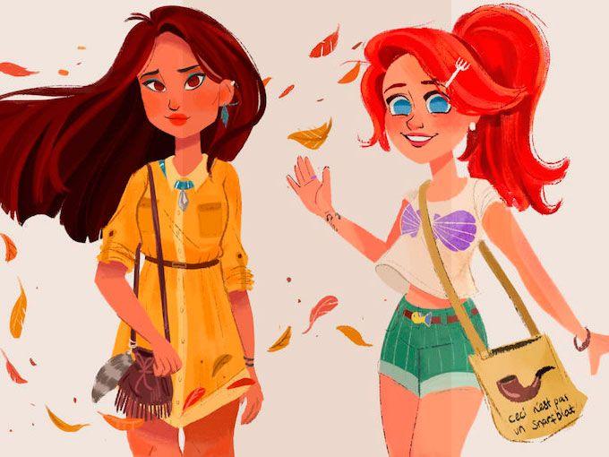 Los millennials son conocidos como la generación malcriada pues la mayoría. Son egocéntricos, listos y nacieron en un mundo acogido por la prosperidad económica. (Sí, tú eres uno de ellos). Tal es su relevancia que el artista canadiense Anoosha Syed diseñó a las princesas de Disney como miembros de esta generación.