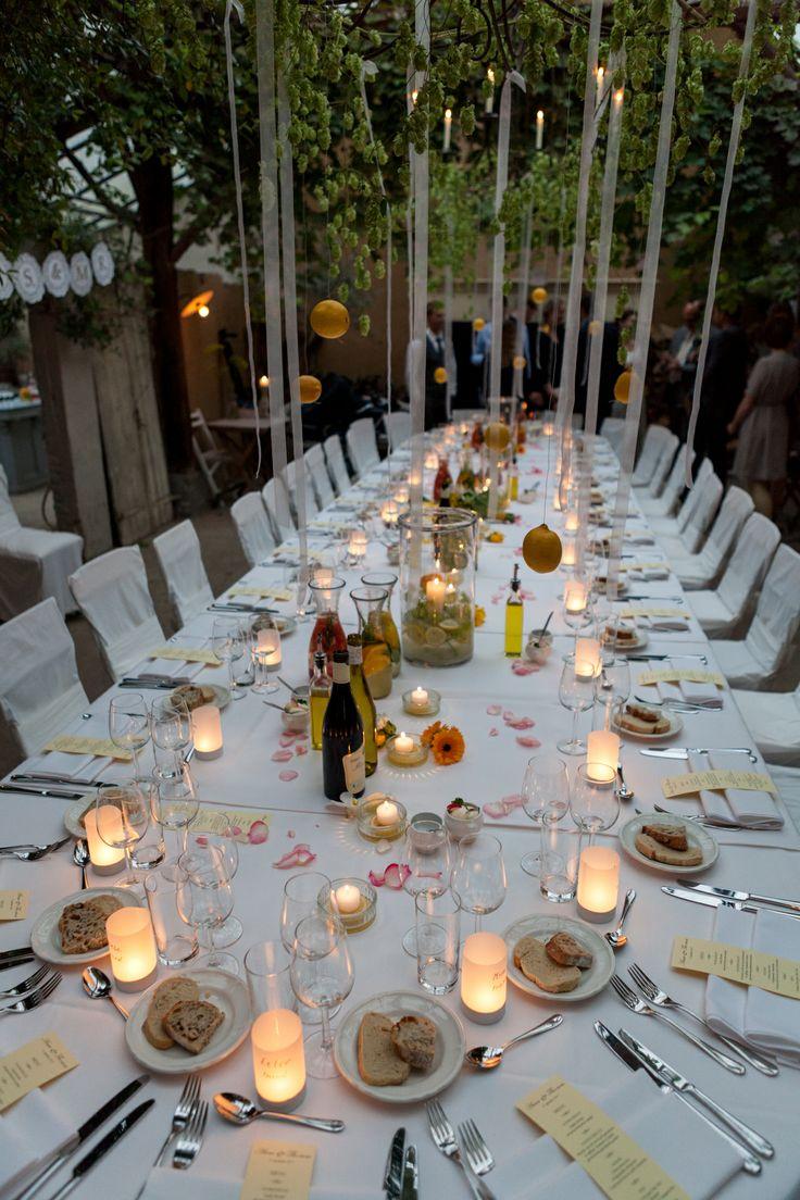Gedekte tafel: De Kort Catering (locatie Orangerie Domaine Heerstaayen)