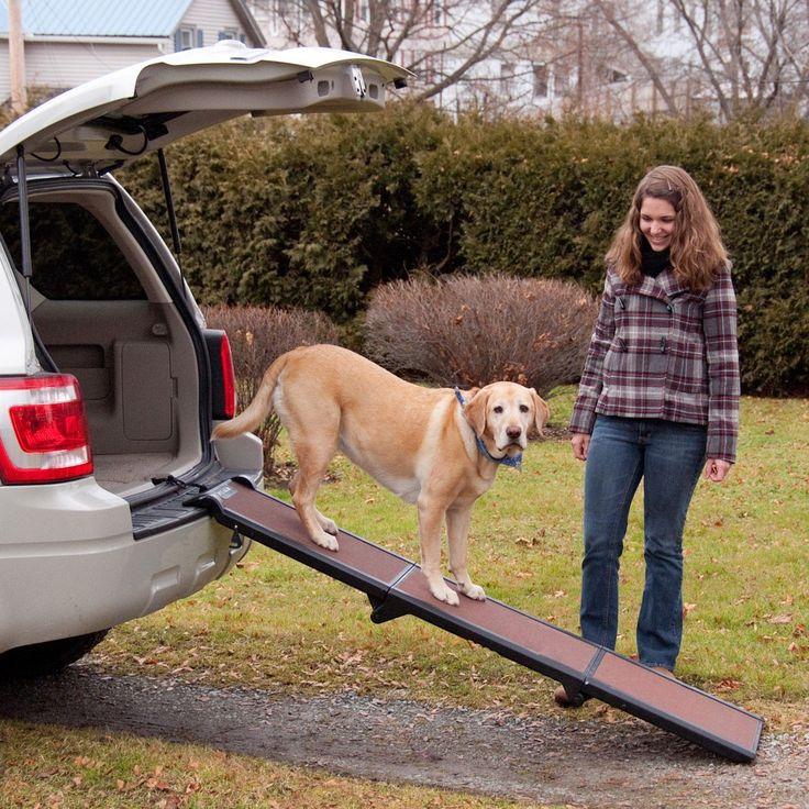 Wolters Travel Lite Pet Gear -Hunderampe Hundetreppe Hunde Rampe Treppe Stufen Einstiegshilfe Auto- bis 90kg schoko/schwarz: Amazon.de: Haustier