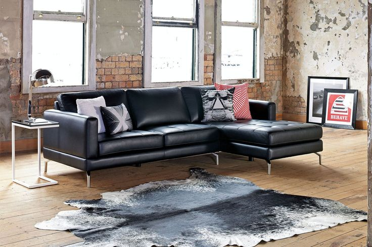 Spencer 3 Seater Fabric Sofa with Chaise. Harvey Norman
