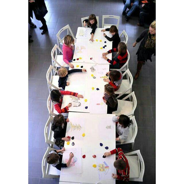 Drawing workshop with #boyacrayons #drawing #creativity #kidsart