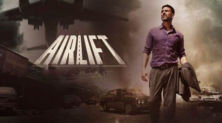 Movie: Airlift (2016)  Director: Raja Menon  Writers: Ritesh Shah, Suresh Nair..   Stars: Akshay Kumar, Nimrat Kaur, Feryna Wazheir, Pawan Chopra…  Genres: Drama   History   Thriller  Language: Hindi  English Subtitle: Yes