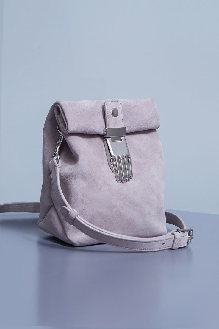 Amazing. Athena suede small lunch bag