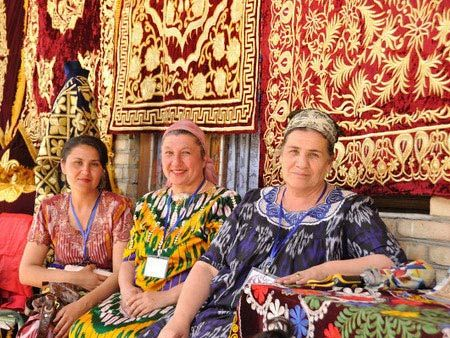 Uzbek language is the only official state language....