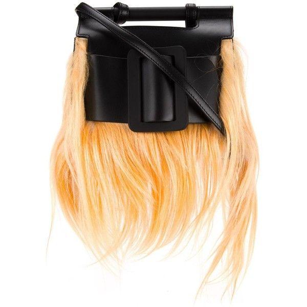 Boyy 'Romeo' shoulder bag ($1,319) ❤ liked on Polyvore featuring bags, handbags, shoulder bags, beige handbags, beige purse, shoulder bag handbag, beige shoulder bag and shoulder bag purse