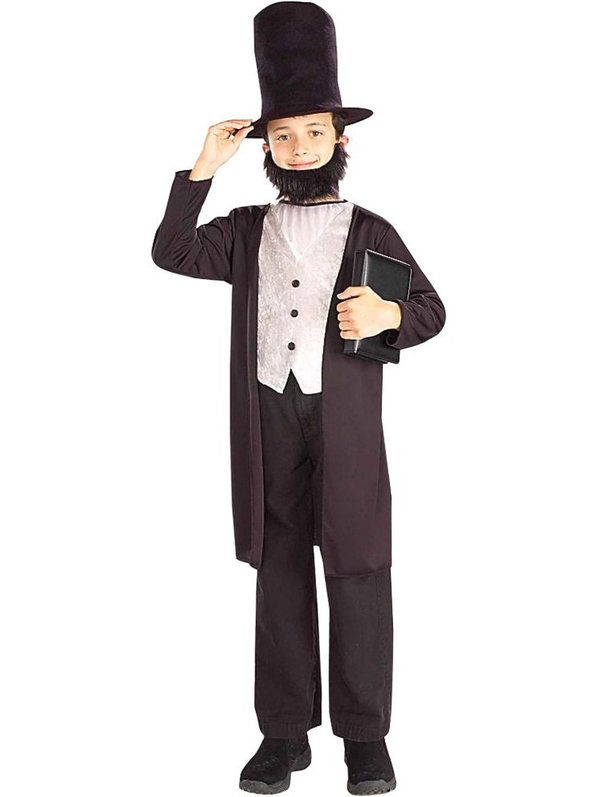 Check out Boy's Abraham Lincoln Costume - Presidents Boys Costumes from Wholesale Halloween Costumes